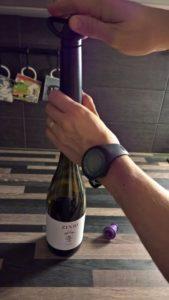 viinipullo tyhjiöpumppu